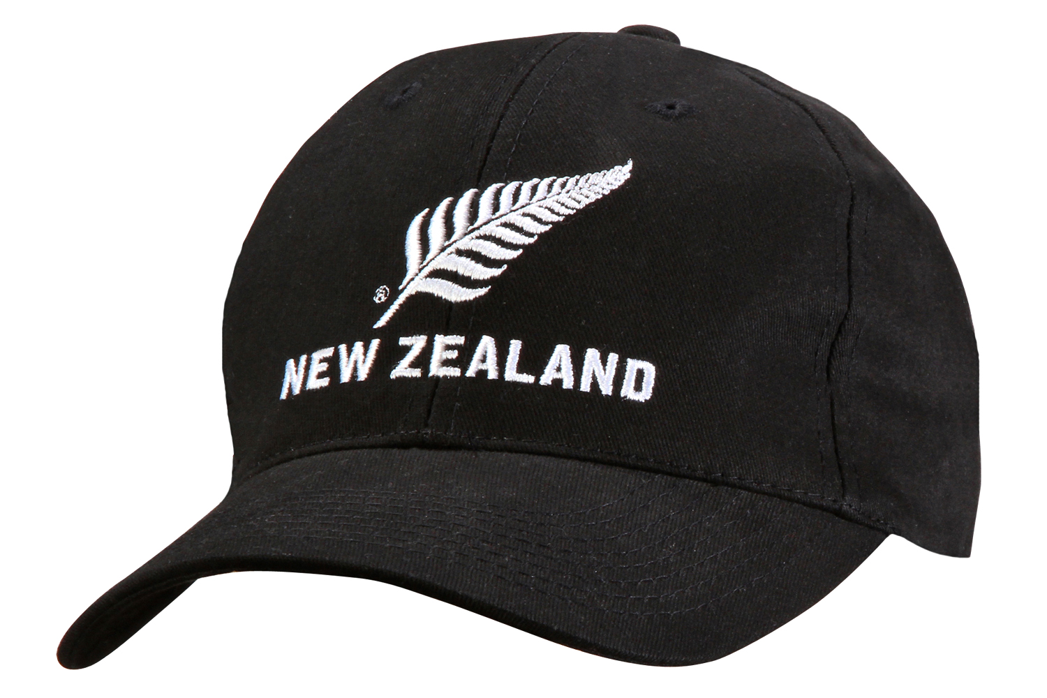 Silver Fern New Zealand Brushed Cotton Cap