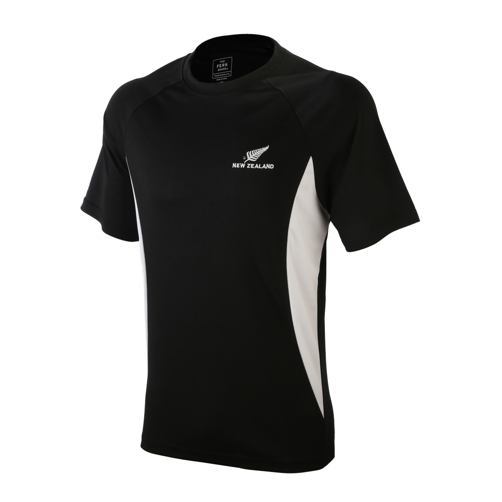 Active T-Shirt with New Zealand silver fern logo