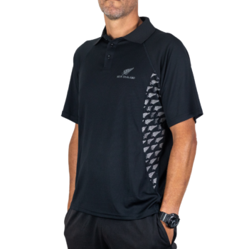 APL229 Active Polo Fern print side