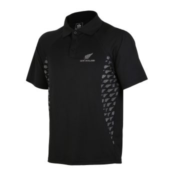 APL229 Active Polo Fern Print