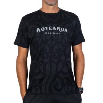 Aotearoa Stingray all over T shirt back