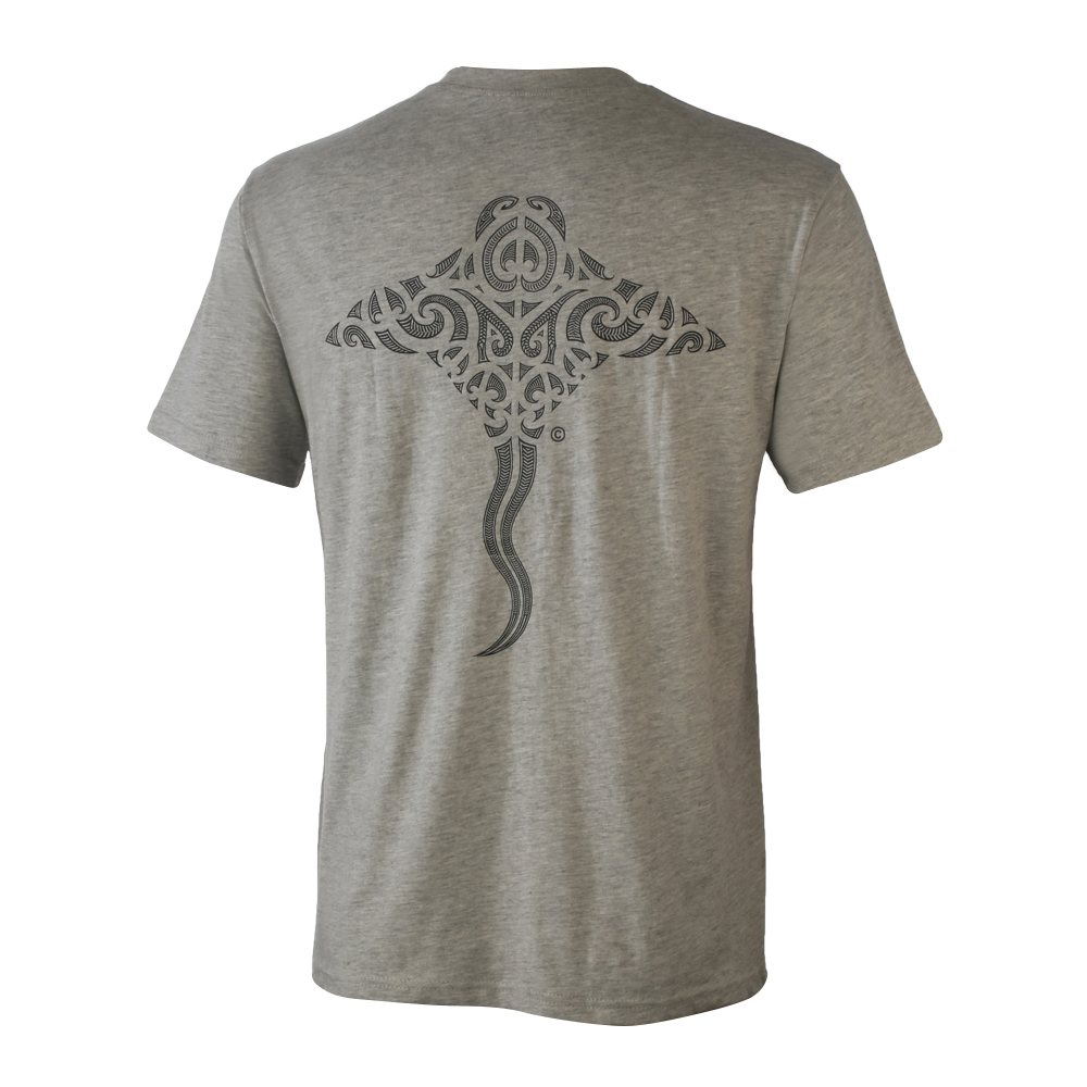 T-Shirt with Stingray design on front and back 100% cotton