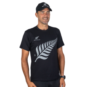 Adult Silver Fern Cap and T Shirt Combo